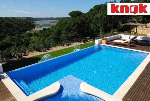 casa Knok Portugal piscine