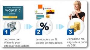 wajestic-cashback-achat-internet